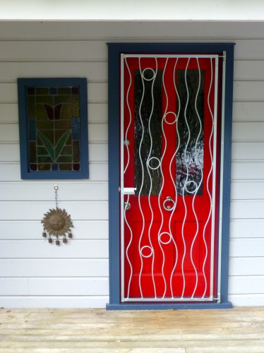 Swampweed Red door